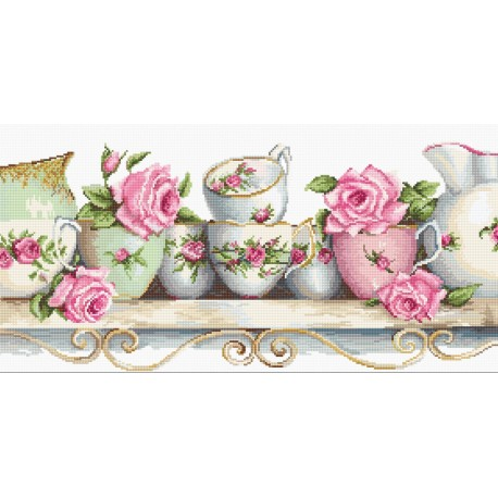 click here to view larger image of Assorted China (counted cross stitch kit)