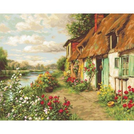 click here to view larger image of Landscape (counted cross stitch kit)