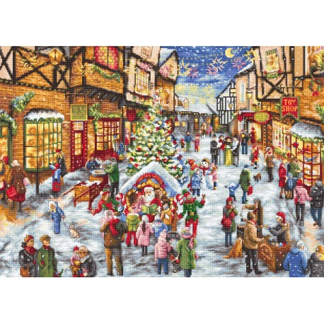 click here to view larger image of Christmas Eve (counted cross stitch kit)