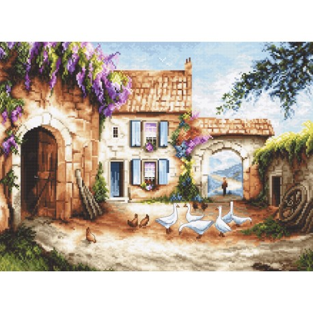 click here to view larger image of Village (counted cross stitch kit)