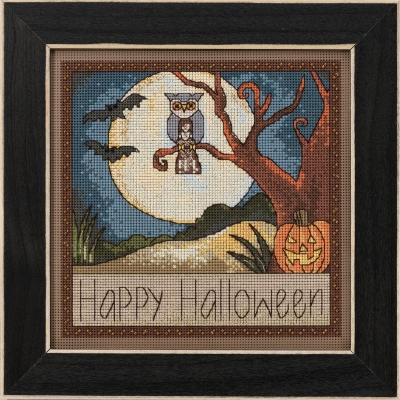 click here to view larger image of Happy Halloween (counted cross stitch kit)