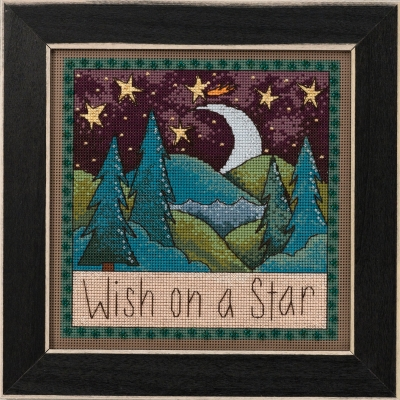 click here to view larger image of Wish on a Star (counted cross stitch kit)