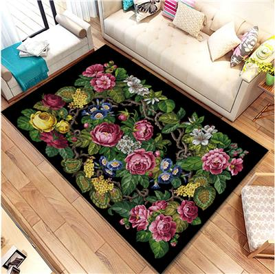 click here to view larger image of Lovely Large Floral Rug (chart)