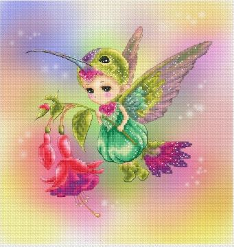 click here to view larger image of Hummingbird Sprite (Mitzi Sato-Wiuff) (chart)