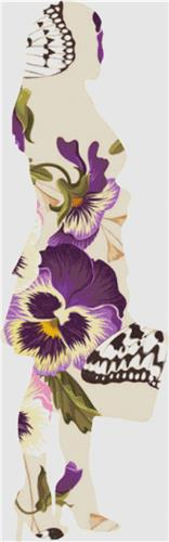 click here to view larger image of Vintage Pansies - Business Woman (chart)