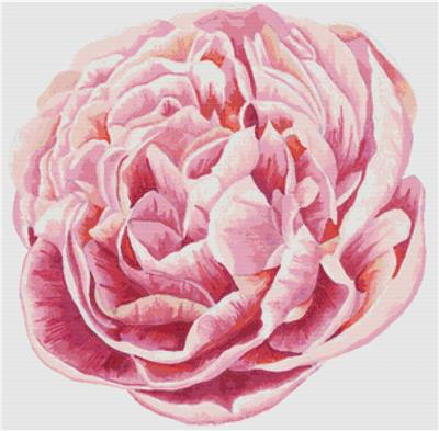 click here to view larger image of Pink Peony (chart)