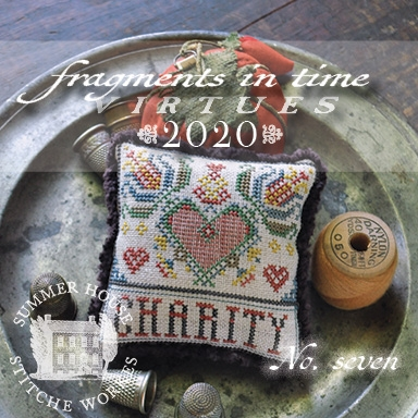 click here to view larger image of Fragments in Time 2020 - 7 Charity (chart)