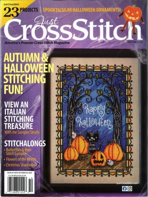 click here to view larger image of Just Cross Stitch Magazine - September/October 2020 (magazines)