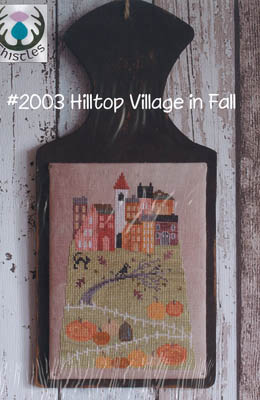 click here to view larger image of Hilltop Village In Fall (chart)