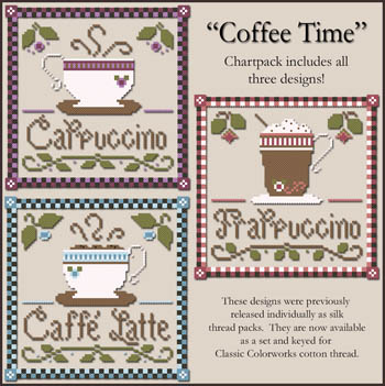click here to view larger image of Coffee Time (chart)