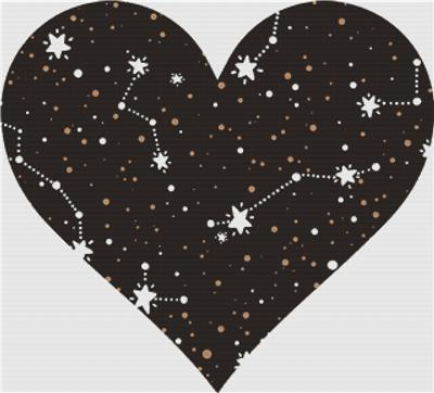 click here to view larger image of Constellation Heart (chart)