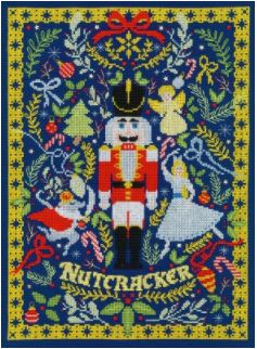 click here to view larger image of Christmas Nutcracker, The (counted cross stitch kit)