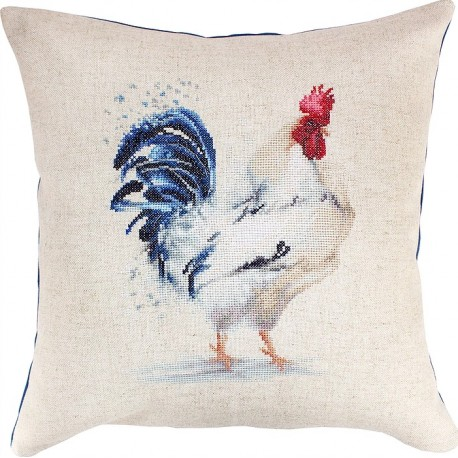 click here to view larger image of Pillow SPB146 (counted cross stitch kit)