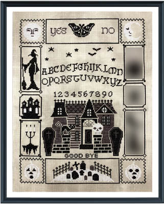 click here to view larger image of Halloween Ouija 4 (chart)