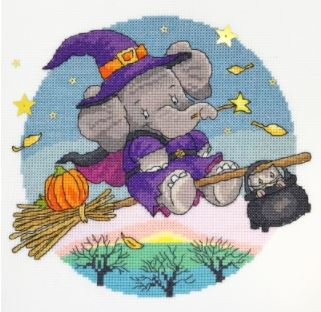 click here to view larger image of Hallow Elly - Elly (Simon Taylor-Kielty) (counted cross stitch kit)