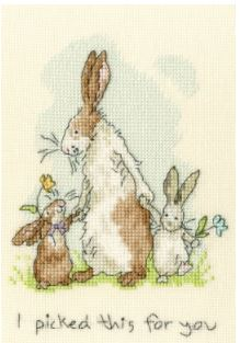 click here to view larger image of I Picked This For You (Anita Jerman) (counted cross stitch kit)