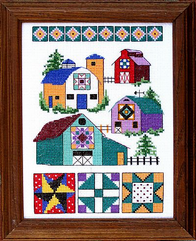 click here to view larger image of Barn Quilts (chart)