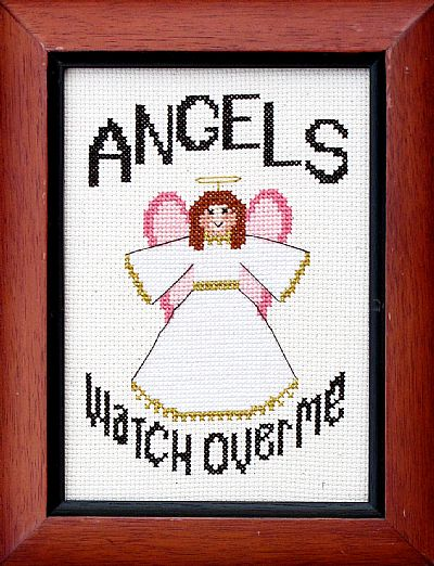 click here to view larger image of Angels Watch Over Me (chart)