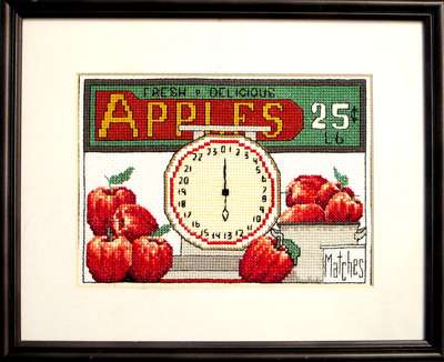 click here to view larger image of Apples 25 Cents a lb (chart)