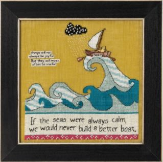 click here to view larger image of Better Boat, A (counted cross stitch kit)