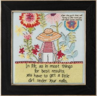 click here to view larger image of Little Dirt (2020) (counted cross stitch kit)
