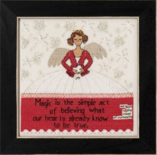 click here to view larger image of Simple Act (2020) (counted cross stitch kit)