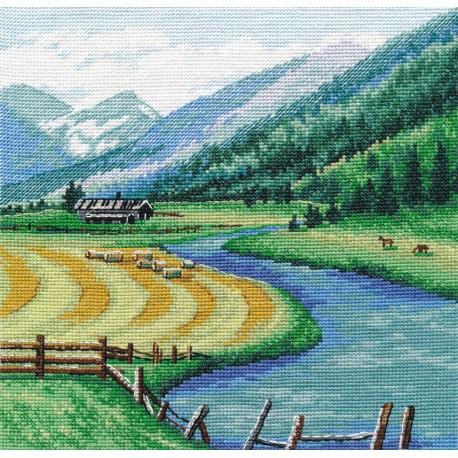 click here to view larger image of Austria (counted cross stitch kit)