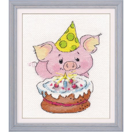 click here to view larger image of Celebration (counted cross stitch kit)