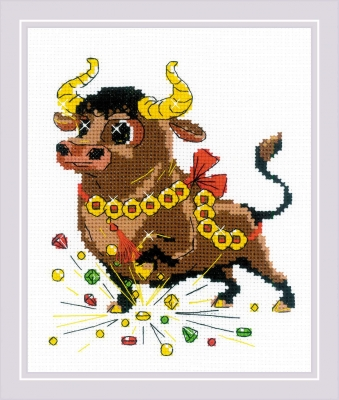 click here to view larger image of For the Success (counted cross stitch kit)