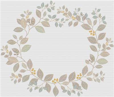 click here to view larger image of Plant Wreath (chart)