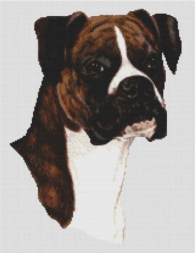 click here to view larger image of Brindle Boxer (chart)