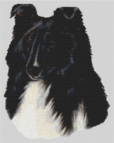 click here to view larger image of Bi-Black Sheltie (chart)