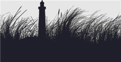 click here to view larger image of Lighthouse Silhouette (chart)