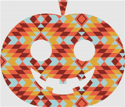 click here to view larger image of Kilim Jack-O-Lanturn (chart)