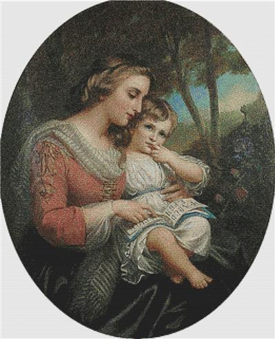 click here to view larger image of Mother and Child (chart)
