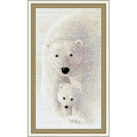 click here to view larger image of Among the Snow (counted cross stitch kit)