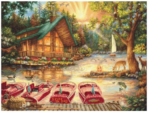 click here to view larger image of Seize the Day (counted cross stitch kit)