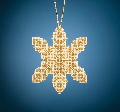 click here to view larger image of Pearl Snowflake (2020) (bead kit)