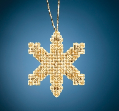 click here to view larger image of Victorian Snowflake (2020) (bead kit)