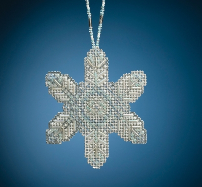 click here to view larger image of Opal Ice Snowflake (2020) (bead kit)