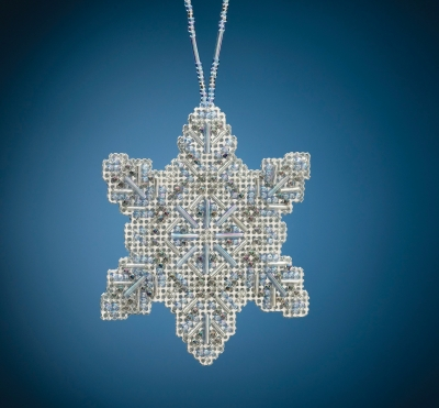 click here to view larger image of Crystal Snowflake (2020) (bead kit)