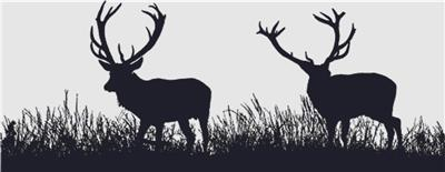 click here to view larger image of Deer Silhouette (chart)