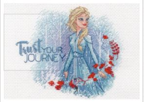 click here to view larger image of Trust Your Journey (counted cross stitch kit)
