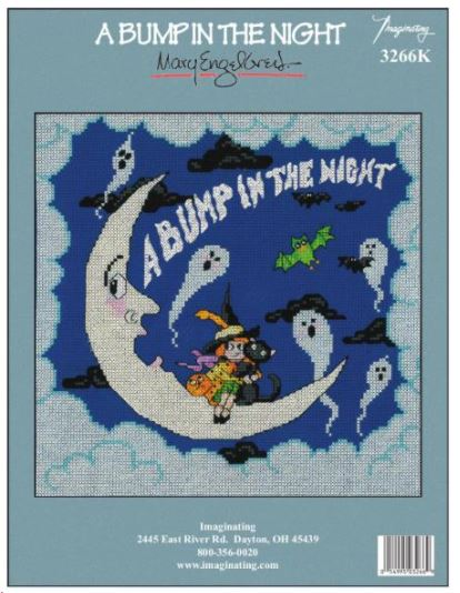 click here to view larger image of Bump In The Night - Kit (counted cross stitch kit)