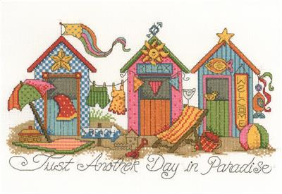 click here to view larger image of Another Day in Paradise - Diane Arthurs (counted cross stitch kit)