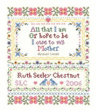 click here to view larger image of All That I Am - Sandra Cozzolino (counted cross stitch kit)