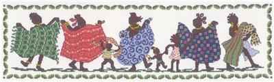 click here to view larger image of African Women Row - Ursula Michael (counted cross stitch kit)