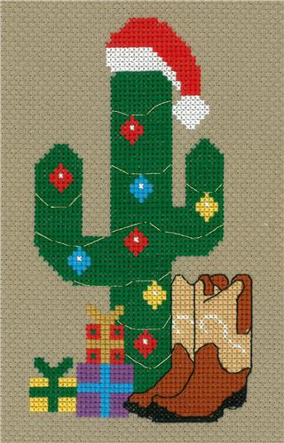 click here to view larger image of Cowboy Christmas - Kristianna Bond (counted cross stitch kit)
