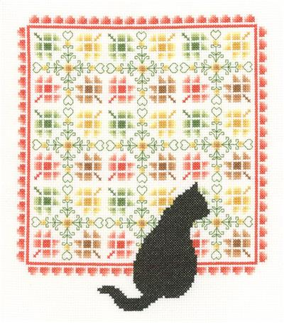 click here to view larger image of Autumn Quilt - Pamela Kellogg (counted cross stitch kit)