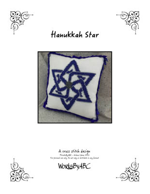 click here to view larger image of Hanukkah Star (chart)